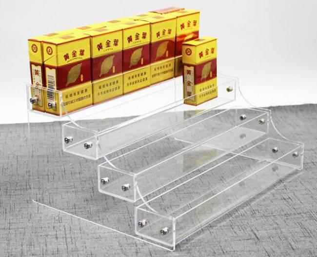 Clear Acrylic Cosmetic Organizer Display Showcase Holder