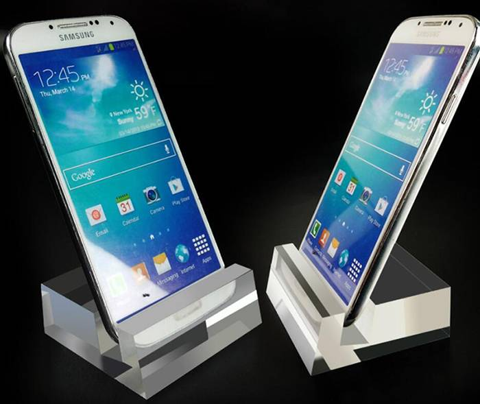 Clear Acrylic Crystal Mobile Cell Phone Display