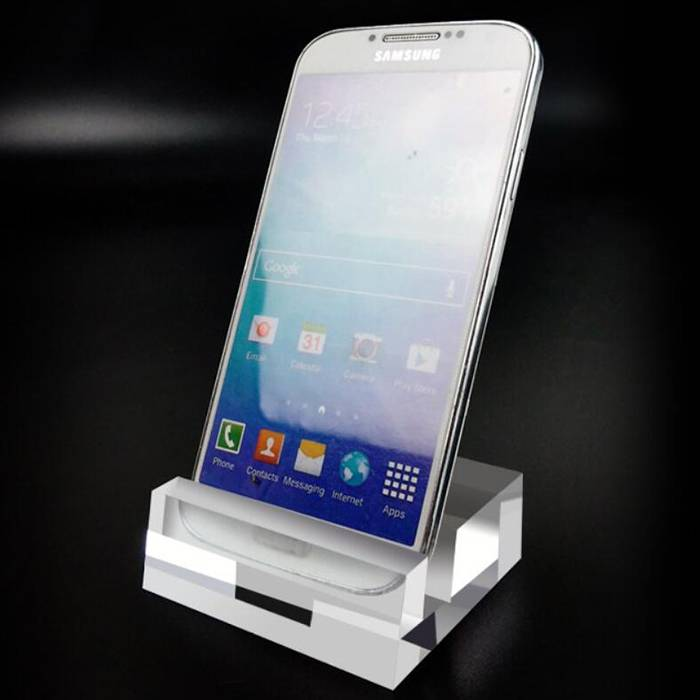 Clear Acrylic Crystal Mobile Cell Phone Display XH37-3