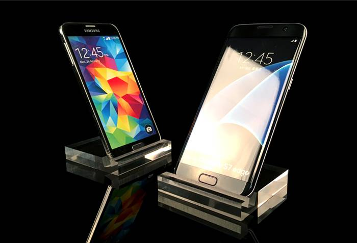 Clear Acrylic Crystal Mobile Cell Phone Display XH37-7