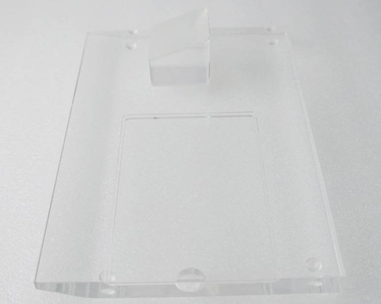 Clear Acrylic Mobile Phone Display Stand with Display Base XH00240-6