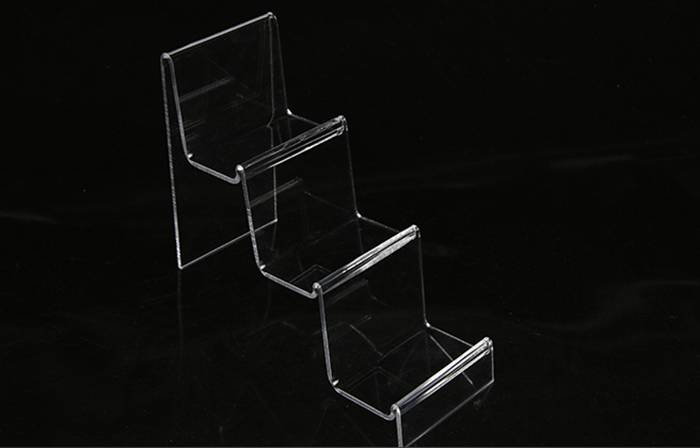 Clear Acrylic Purse and Wallet Display Stand Holder XH49-6
