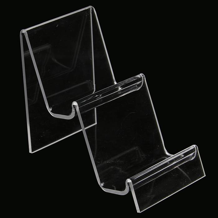 Clear Acrylic Purse and Wallet Display Stand Holder