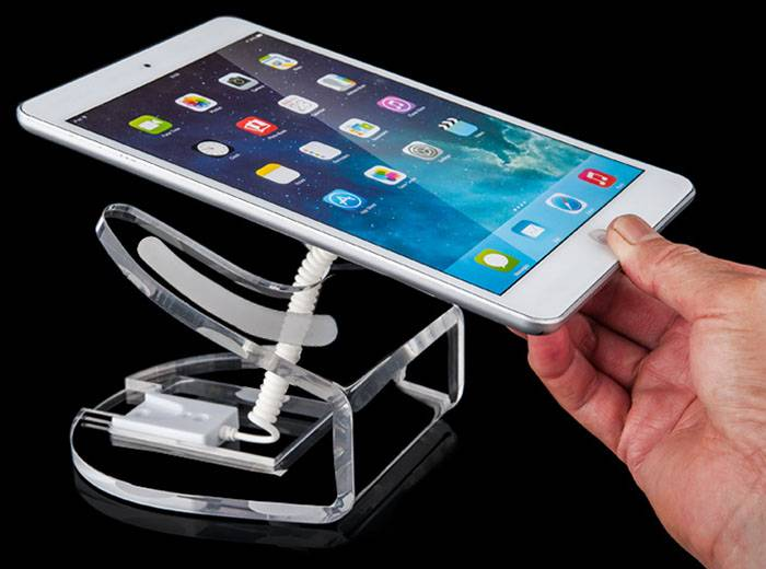 Clear Acrylic Tablet Display Holder for Cell Phone