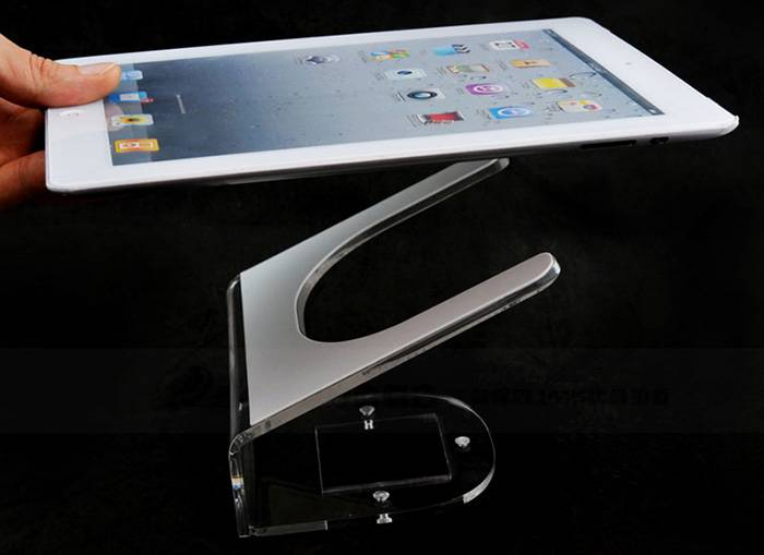 Clear Acrylic Tablet Display Holder for Cell Phone XH36-3