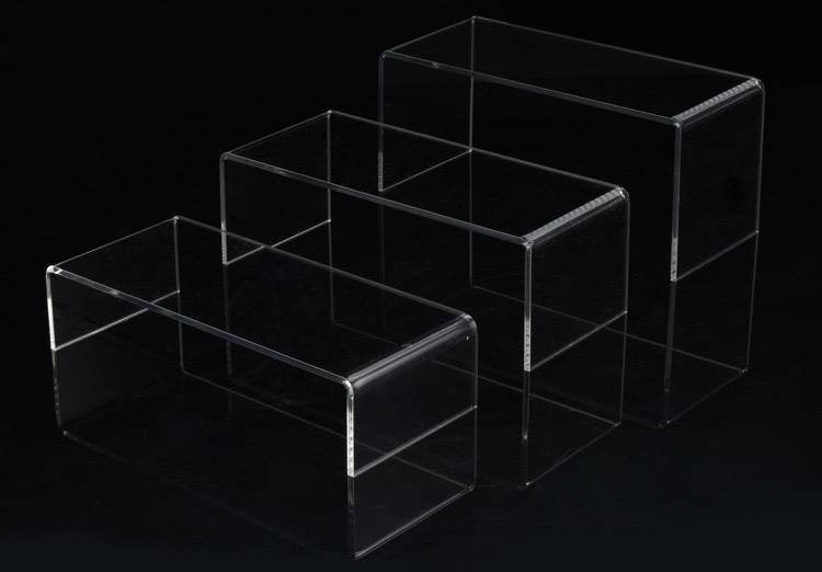 Clear Acrylic U-Shaped Riser