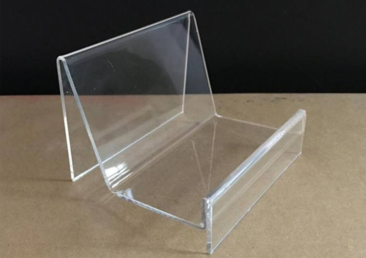 Clear Acrylic Wallet Display Stand Holder Leather Handbag Purse Display Stand XH0105-8