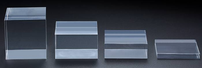 Clear Polished Acrylic Rectangular Display Block XH00212-3