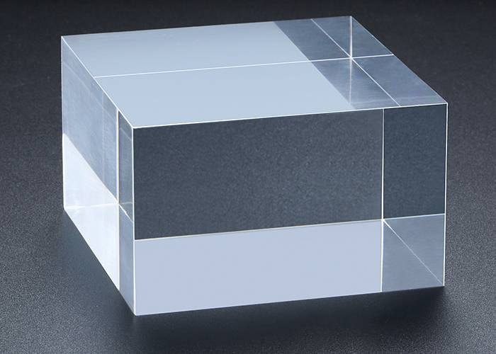Clear Polished Acrylic Rectangular Display Block XH00212-4