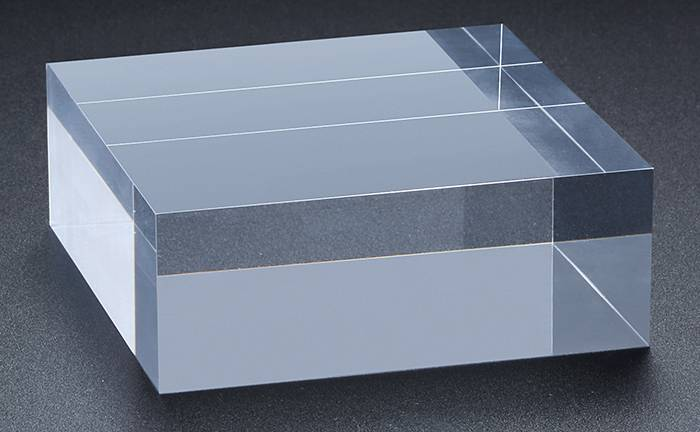 Clear Polished Acrylic Rectangular Display Block XH00212-5