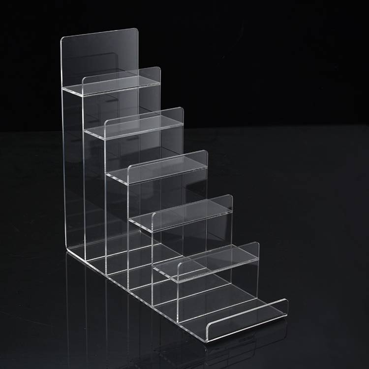 Clear Tier Retail Acrylic Display Holder Rack for Purse Wallet Display XH0064-2
