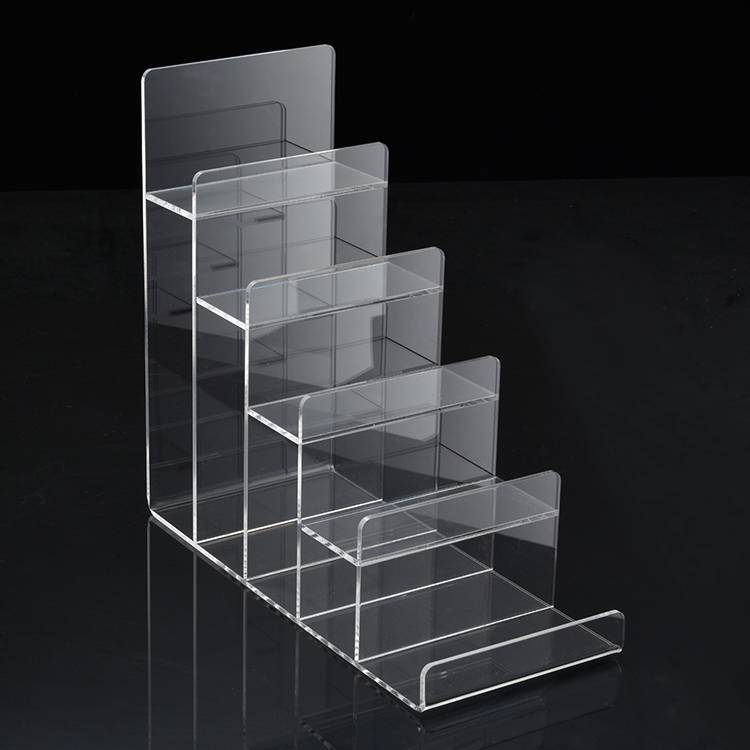 Clear Tier Retail Acrylic Display Holder Rack for Purse Wallet Display XH0064-3