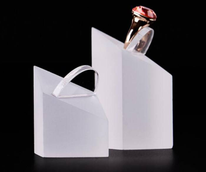 Frosted Acrylic Earrings Display Holder Stands Fine Exhibition Store Show XH32-7