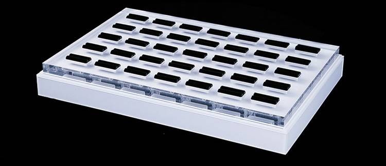 Jewelry Ring Display Organizer Storage Box Case Tray Holder with 35 Slot Ring Display-2