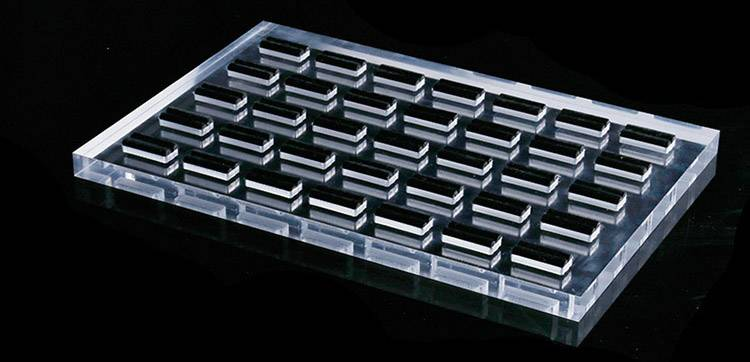 Jewelry Ring Display Organizer Storage Box Case Tray Holder with 35 Slot Ring Display-4