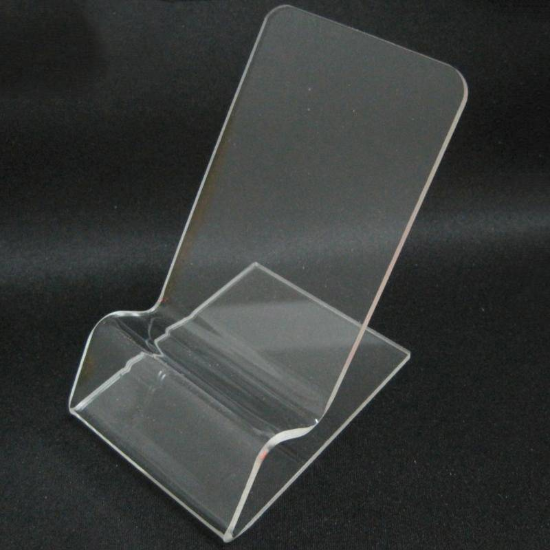 Mobile Cell Phone Clear Acrylic Display Stand Mount Holder
