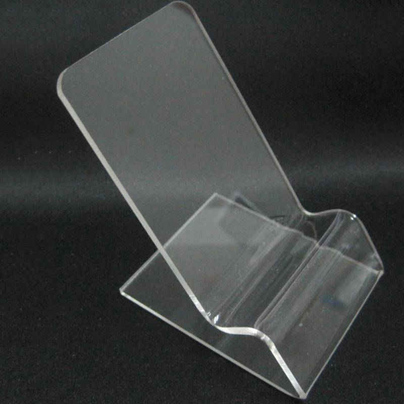 Mobile Cell Phone Clear Acrylic Display Stand Mount Holder XH0104-2