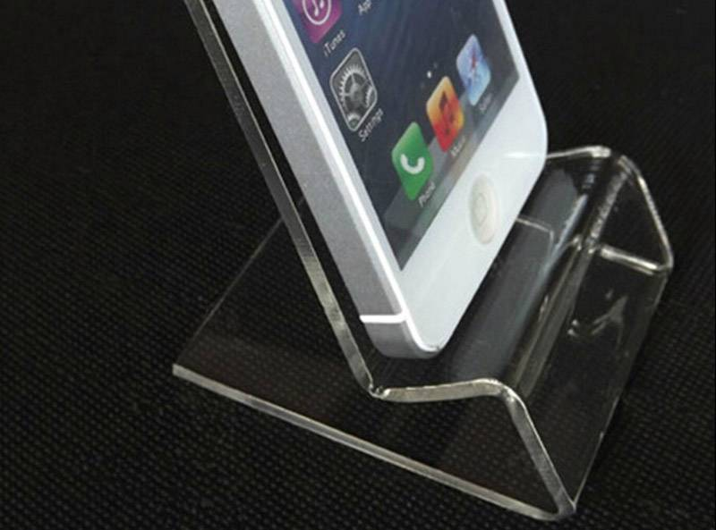 Mobile Cell Phone Clear Acrylic Display Stand Mount Holder XH0104-6