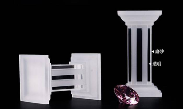Multi Function Square Base Acrylic Display Stand for Jewelry Display XH26-5