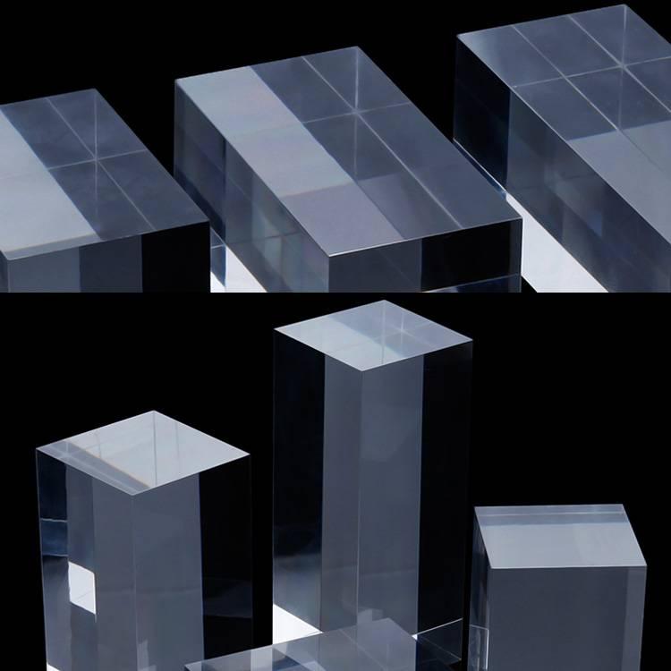 Portable Acrylic Riser Stand Solid Acrylic Riser Block XH0146-10