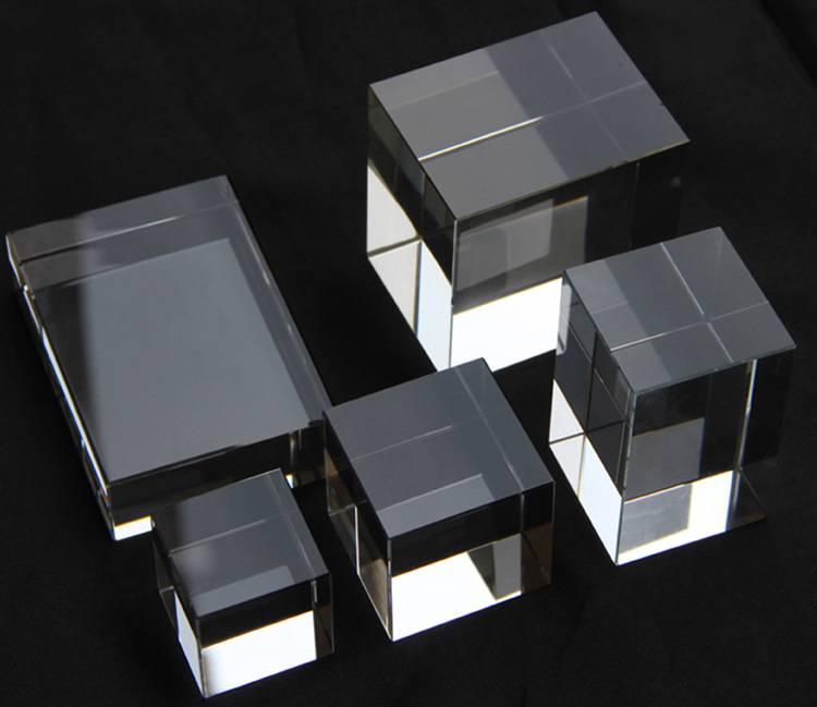 Portable Acrylic Riser Stand Solid Acrylic Riser Block XH0146-3