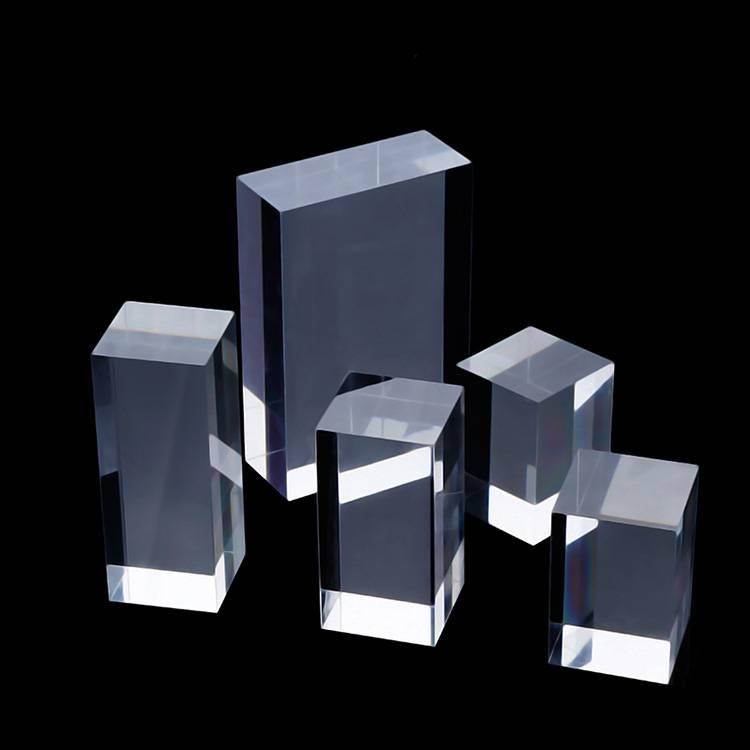 Portable Acrylic Riser Stand Solid Acrylic Riser Block XH0146-5