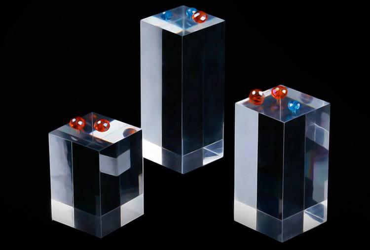 Portable Acrylic Riser Stand Solid Acrylic Riser Block XH0146-6