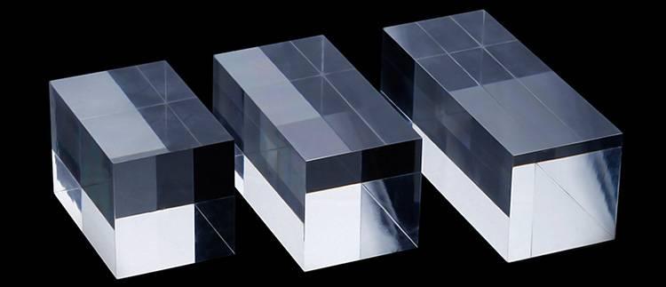 Portable Acrylic Riser Stand Solid Acrylic Riser Block XH0146-7
