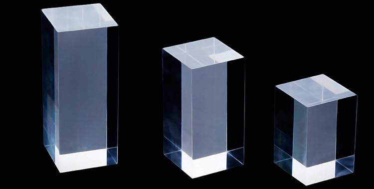 Portable Acrylic Riser Stand Solid Acrylic Riser Block XH0146-8