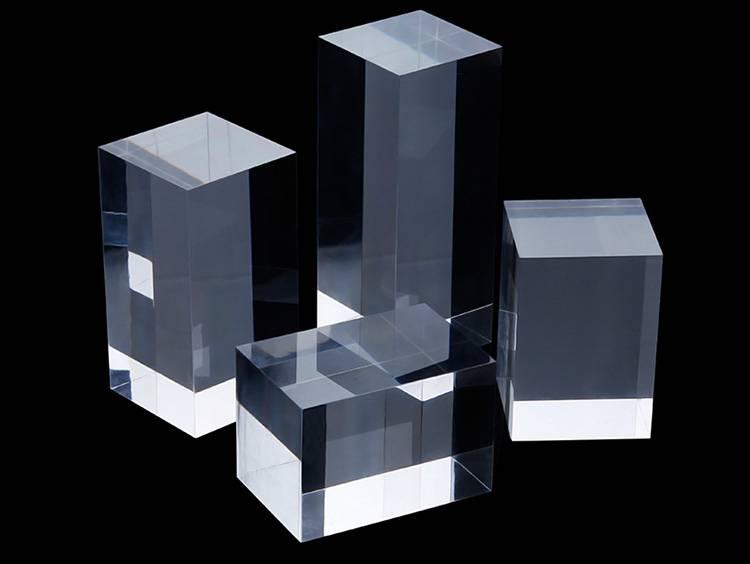 Portable Acrylic Riser Stand Solid Acrylic Riser Block XH0146-9