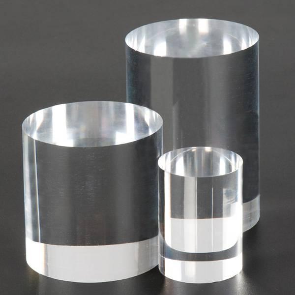 Solid Clear Acrylic Cylinder XH0145-3