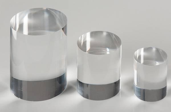 Solid Clear Acrylic Cylinder XH0145-4