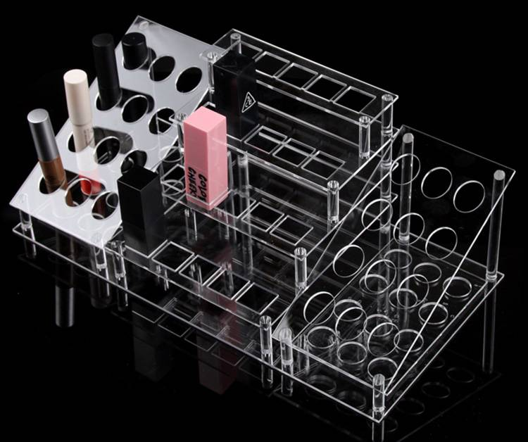 Tabletop Clear Large Cosmetic Organizer