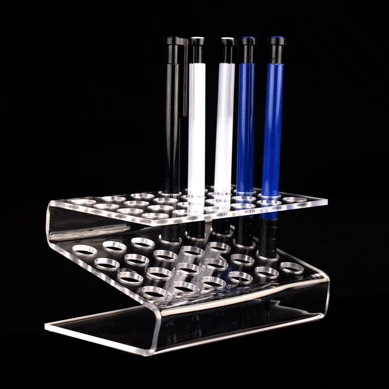 Z Shaped Clear Arcylic Display Stand Holder Rack