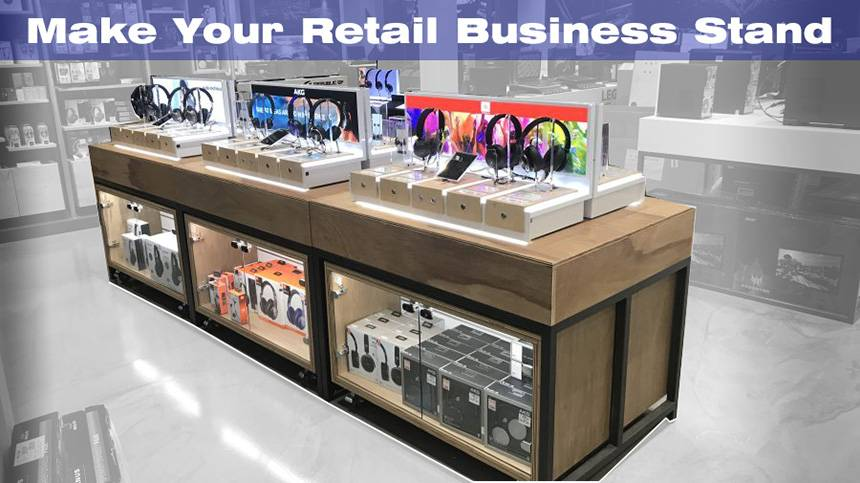 Retail Business Stand