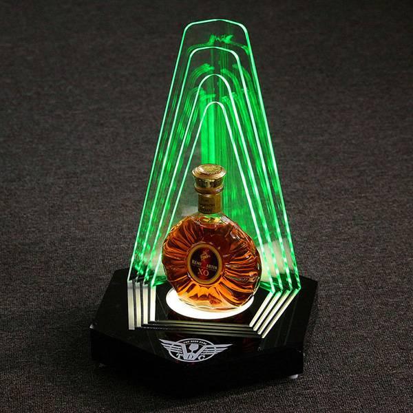 bottle glorifier display stand