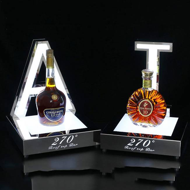 acrylic bottle glorifier