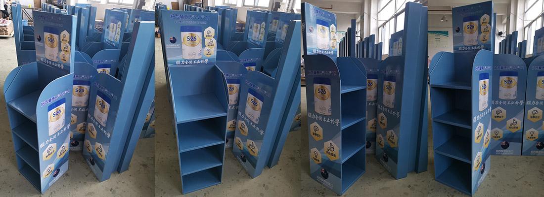 wyeth cardboard display stand