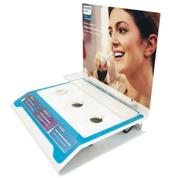 Countertop Philips Electric Toothbrush Acrylic Display Stand