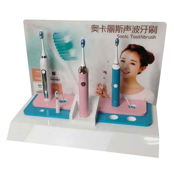 Desktop Style Electric Toothbrush Display Stand