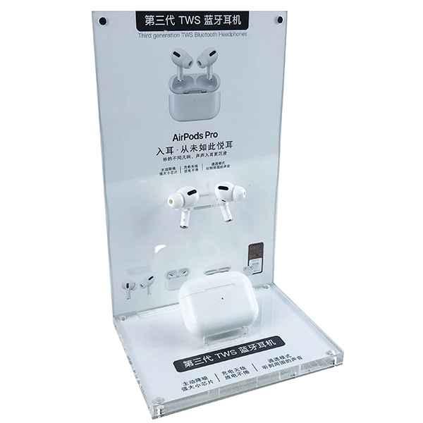 Earbud Bluetooth Headset Acrylic Display Rack