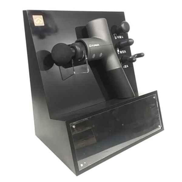 Retail Store Countertop Fascial Gun Display Rack